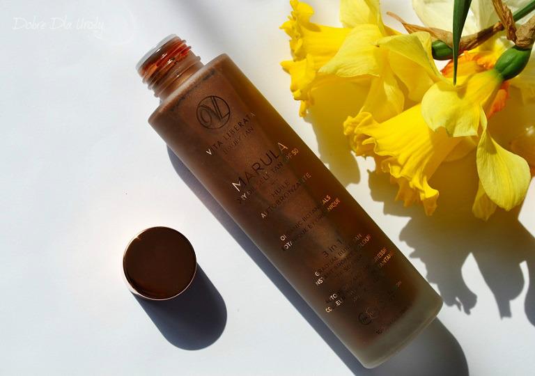 Vita Liberata Marula Self Tan Dry Oil SPF 50 - magiczny olejek który opala, pielęgnuje i chroni!