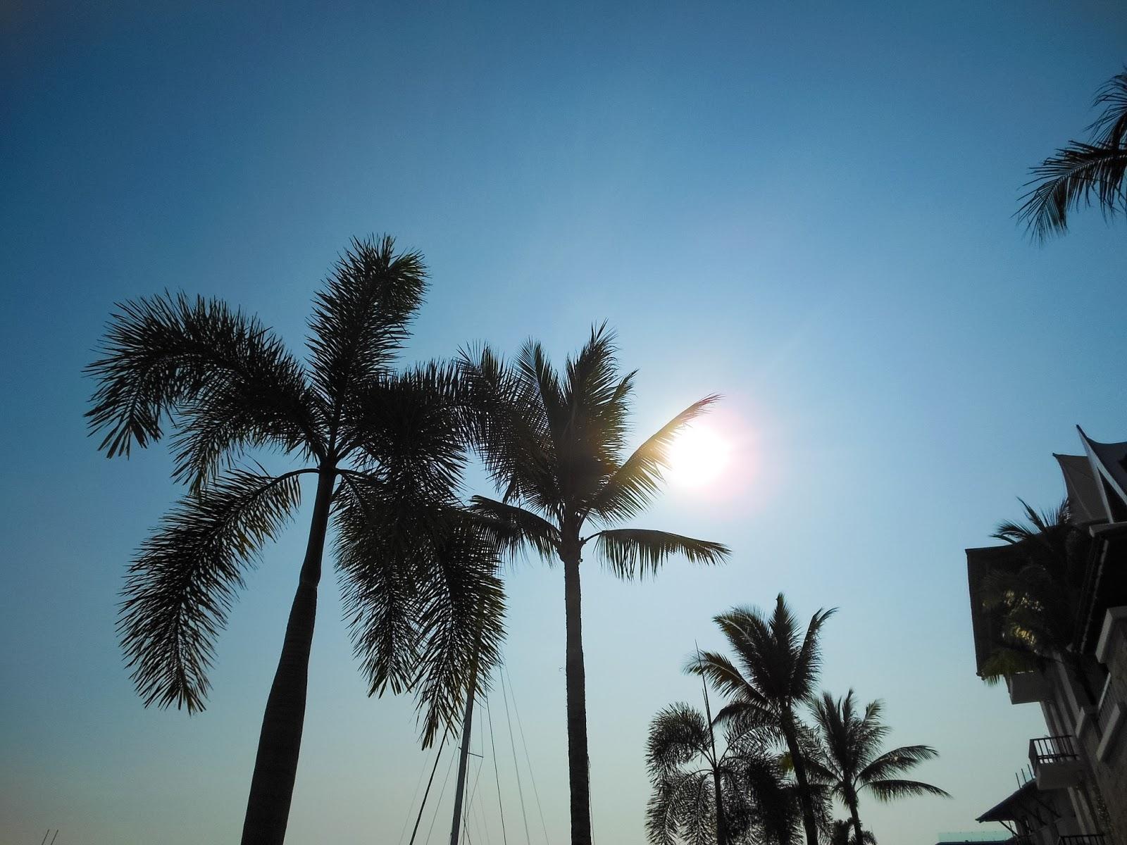 sunrise at the marina phuket
