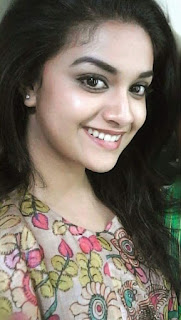 Keerthy Suresh with Cute and Awesome Lovely Smile