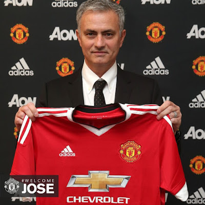 #WELCOMEJOSE TRENDS ON TWITTER AS MANCHESTER UNITED UNVEILS JOSE MOURINHO AS COACH