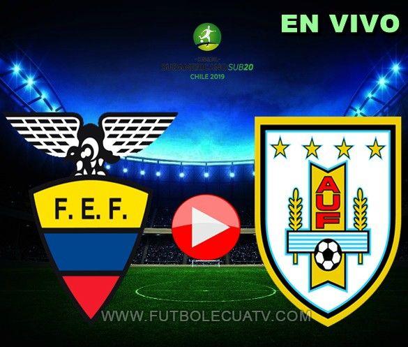 Ecuador y Uruguay se enfrentan en vivo 📱 desde las 17.50 horario nacional a efectuarse en el campo El Teniente por la fecha dos Hexagonal del Sudamericano Sub-20, siendo el árbitro principal a mencionar luego con emisión del canal oficial GolTV.
