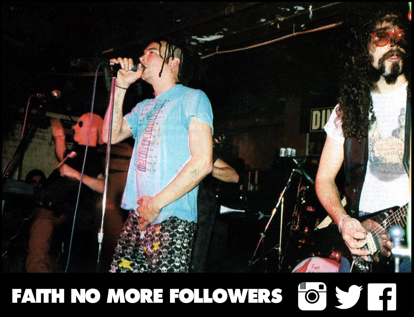 Faith No More 22 01 1988 Dingwalls