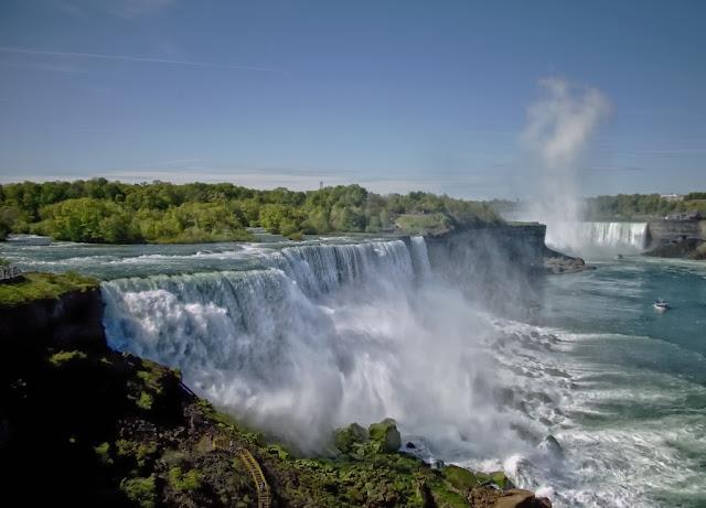 Landscape of Niagara Falls