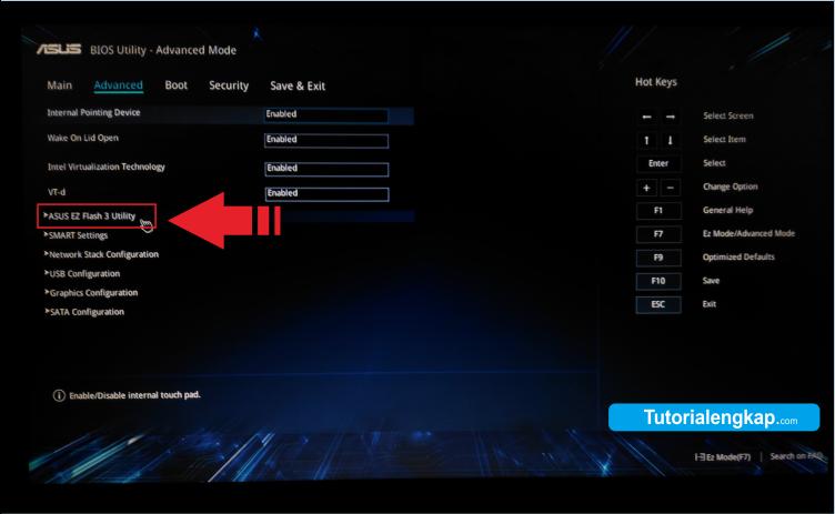 tutorial lengkap cara update dan memperbaharui versi bios komputer dan laptop