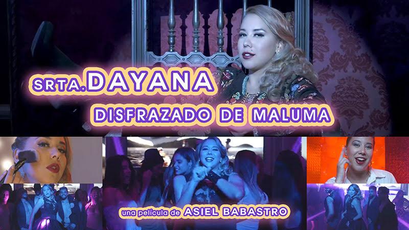Srta Dayana - ¨Disfrazado de Maluma¨ - Videoclip - Director: Asiel Babastro. Portal Del Vídeo Clip Cubano