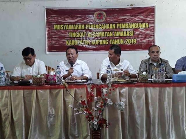 Korinus Masneno Buka Musrembangcam Pemkab Kupang