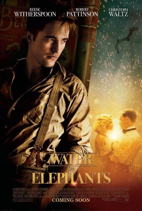 Robert Pattinson Water for Elephants poster