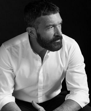 colección de ropa hombre Antonio Banderas Design by Selected Homme camisa blanca