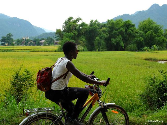 vietnam voyage 15jours mai chau nord montagne riziere moi en velo à mau chau