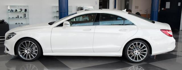 Bên hông Mercedes CLS 500 4MATIC thiết kế cực kì lôi cuốn và hấp dẫn