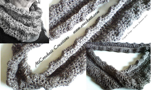 free crochet patterns, scarf, infinity scarf, man, moebius, mobius