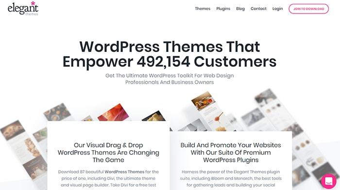 ElegantThemes - Affiliate Programs For WordPress Templates