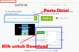 Cara Paling Gampang dan Mudah Mendownload Video Youtube