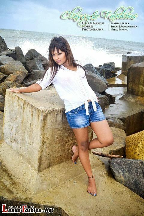 Shani Shenaya Photoshoot on Sri Lankan Actresses & Models