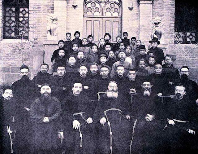 O seminário franciscano de Dongergou chegou a formar cem padres