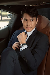 亞洲兩大男神演繹浪琴表巨擘系列午夜藍腕錶 展現不同世代優雅魅力