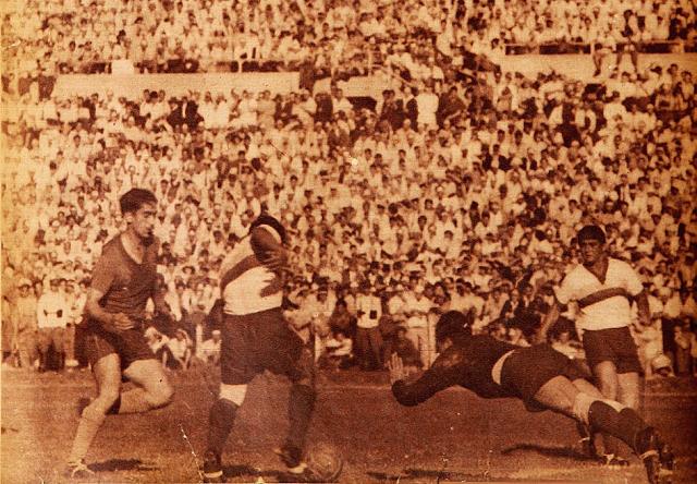 Chile y Ecuador en Campeonato Sudamericano de 1945