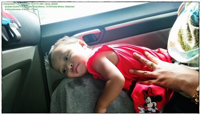 gambar Aina bayi 11 bulan 9 hari.
