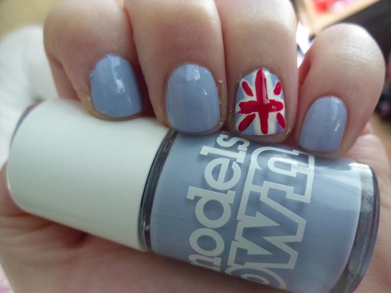 Models Own Beth's Blue Nail Polish