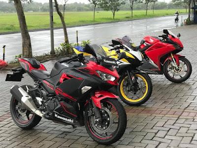 New Ninja 250 vs CBR250RR vs R25