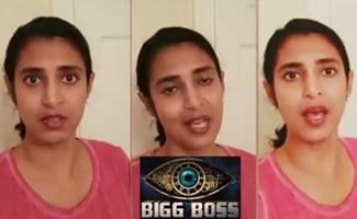 Kasturi lashes about her Bigg boss 2 Wildcard Entry…!