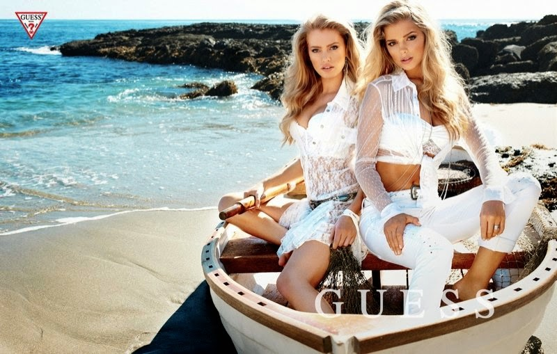 Guess SpringSummer 2014 Campaign featuring Samantha Hoopes