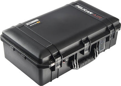 Uniquely designed, lightweight Pelican Air cases easily lighten the loads of dedicated professionals.