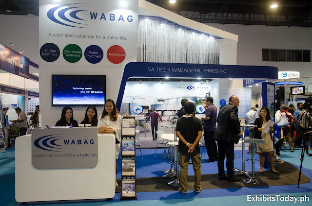 Wabag Trade Show Display