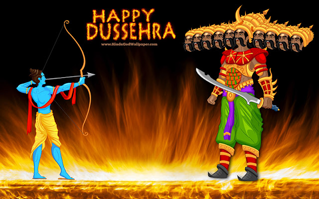 #30+ Happy Dussehra 2016 Whatsapp Status & Wishes Message For Facebook, Whatsapp And Twitter