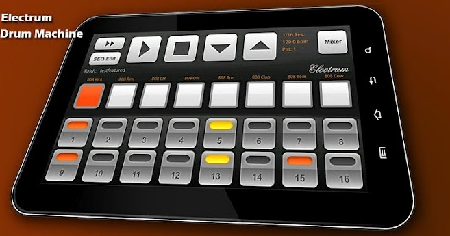 app android app electrum drum machine sampler v4 5 9 apk. Black Bedroom Furniture Sets. Home Design Ideas