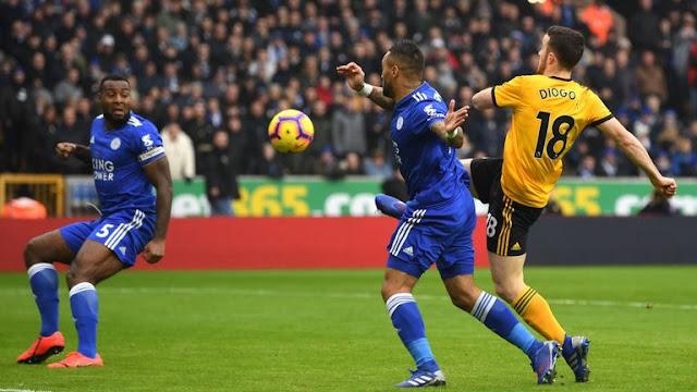 Diogo Jota Wolverhampton Wanderers Vs Leicester City