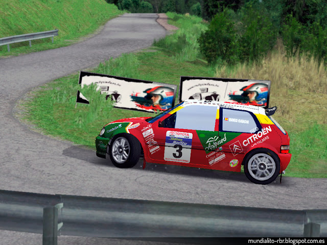 Citroën Saxo Kit Car David García 2003