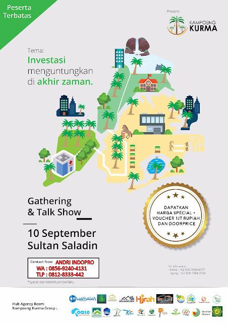 Gathering-Kampung-Kurma-Sultan-Saladin-Banten-investasi-Tanah-Kavling-Islami-Kebun-Kurma