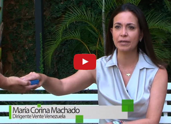 Maria Corina Machado quiere votar por Lorenzo Mendoza para presidente