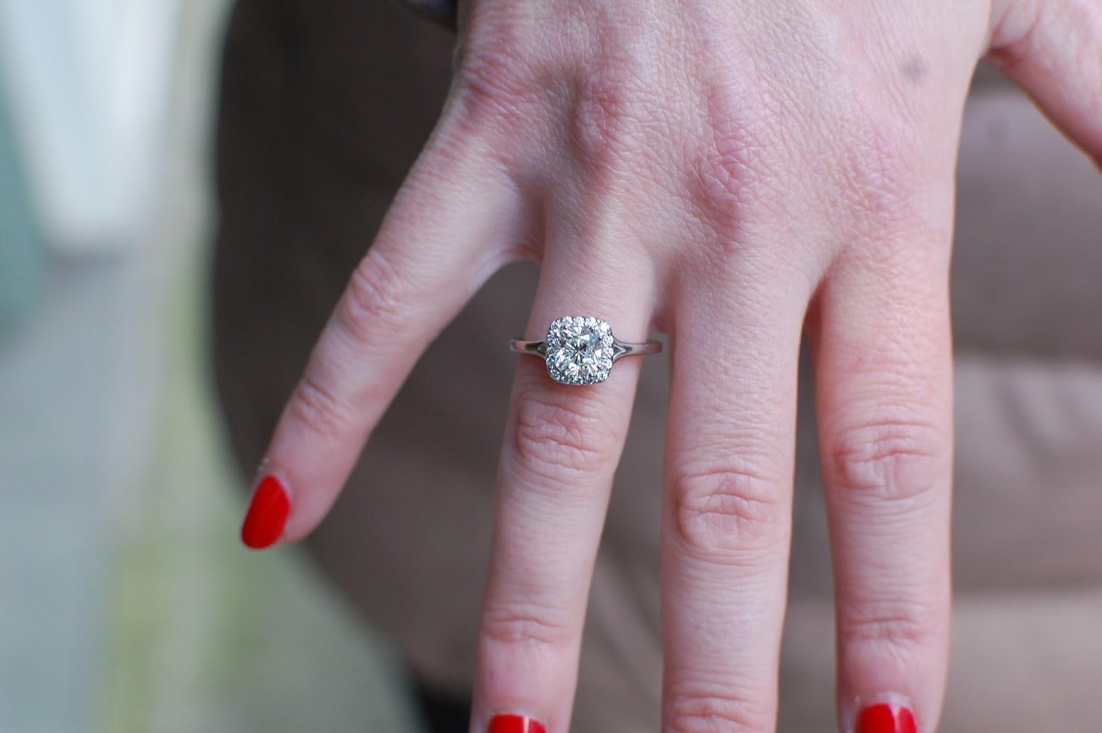 FireCushion Diamonds at LT Denny Jewelers