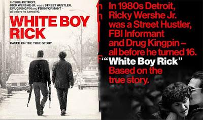 White Boy Rick - Segundo Poster & Segundo Trailer