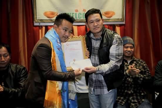 Parwan Rai honored in Hong Kong