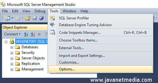 Pengaturan Penting Dasar Database SQL Server
