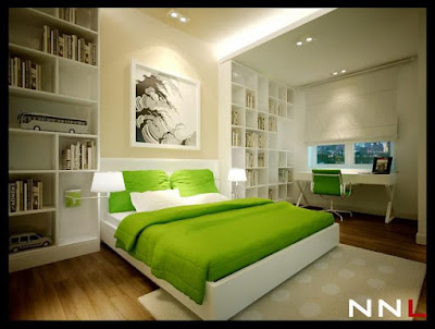 Modern bedroom sets in lightly off white colors and with stylish frieze carpet