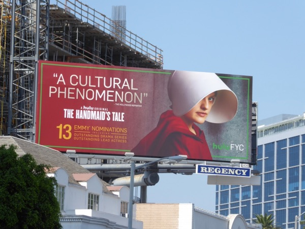 Handmaids Tale 2017 Emmy Nominations billboard
