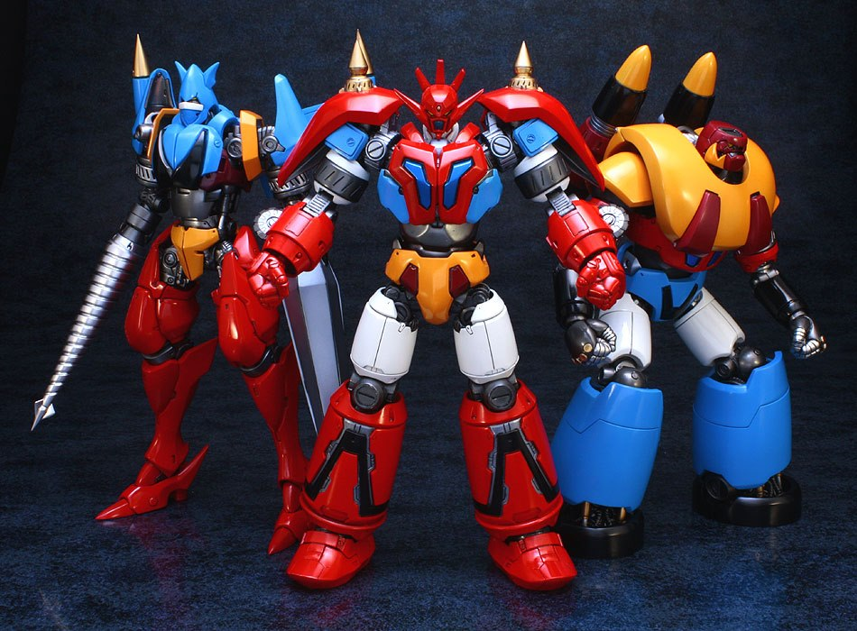 Getter Robo Toys 60