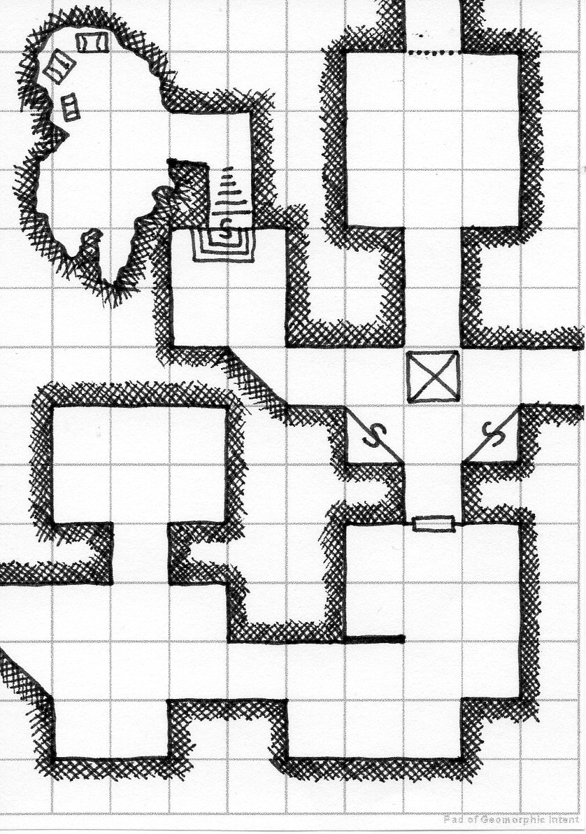 Oubliette Magazine: Guess the Dungeon #18