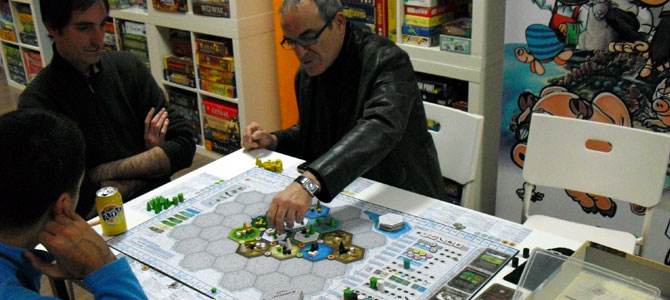 Dominant Species partida en hlv