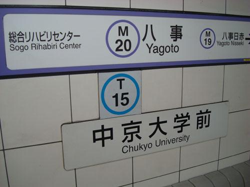 Yagoto Station Platform Nagoya