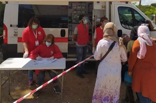 Ο Ερυθρός Σταυρός Άργους στη Δομή Προσφύγων και Μεταναστών Κορίνθου