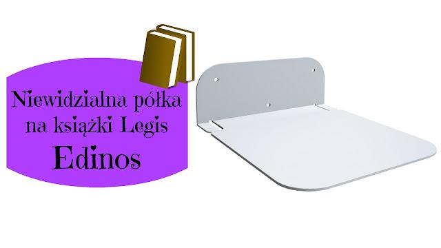 RECENZJA: Niewidzialna półka na książki Legis | Edinos