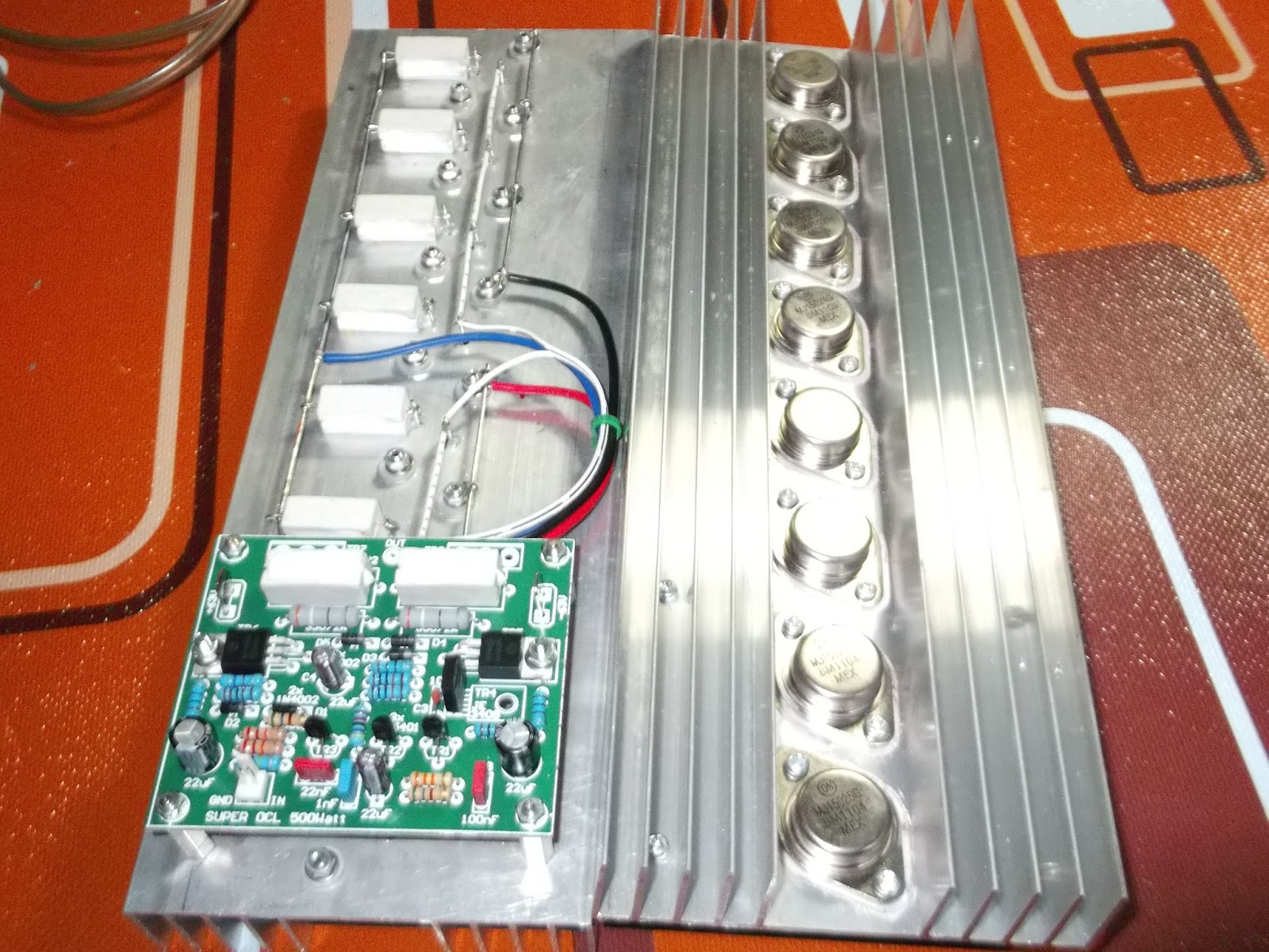 Power Amplifier Super Ocl 500w Circuit Electronic Circuit