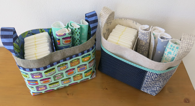 Luna Lovequilts - Two Divided Basket pattern by Noodlehead