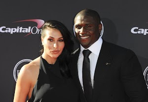 Reggie Bush and Lilit Avagyan: first output torque since they became parents!