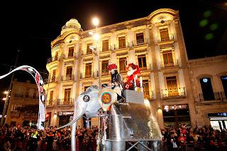 Horario e Itinerario de la Cabalgata de Reyes Magos de Almería 2019